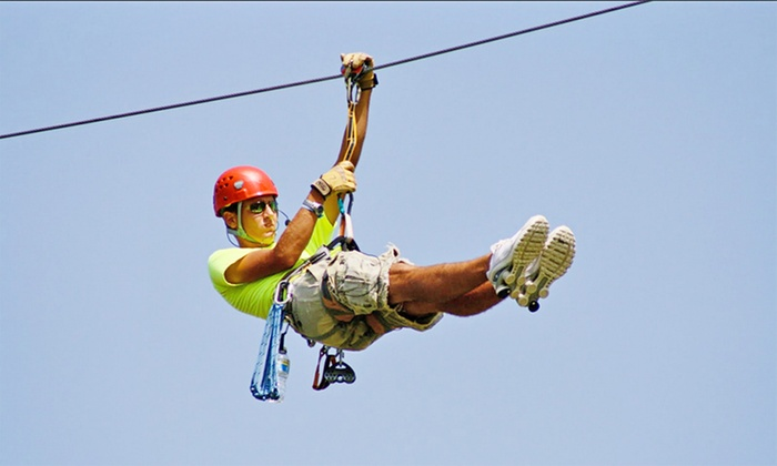 Adrenaline zipline coupons