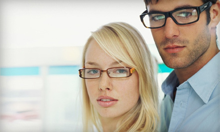 Tru-Valu Optical - Tru-Valu Optical: Doctor-Performed Eye Exam with and Credit Toward One or Two Pairs of Glasses at Tru-Valu Optical (Up to 84% Off)
