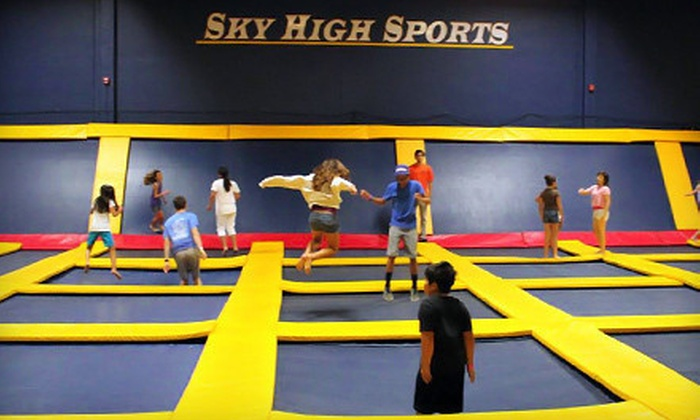 Sky High Sports LA - Woodland Hills: Two Hours of Trampoline Jump Time on Weekdays or Weekends at Sky High Sports (Half Off)