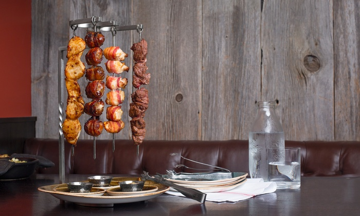 mEAT Restaurant - Gran Cru Chicago, Inc.  - mEAT Restaurants: Upscale Kebabs, Fondue, and American Cuisine for Two or Four at mEAT on Chestnut (38% Off)