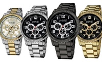 GROUPON: August Steiner Men's Multifunction Bracelet Watch August Steiner Men's Multifunction Bracelet Watch