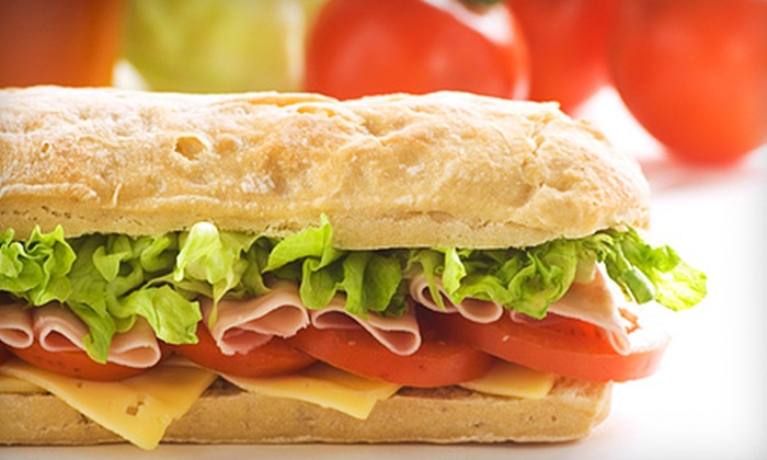 Quiznos - 3: $8 for Two Large Sandwiches or Salads at Quiznos ($16.58 Value)