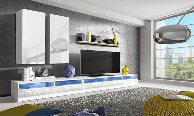 Pareti da soggiorno di design groupon goods for Groupon soggiorni