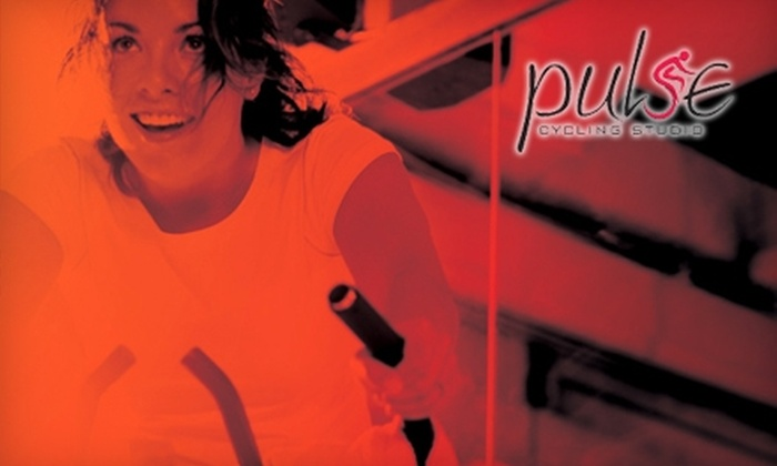 Pulse Cycling Studio - Anthem: $30 for a Five-Ride Card at Pulse Cycling Studio in Henderson ($60 Value)