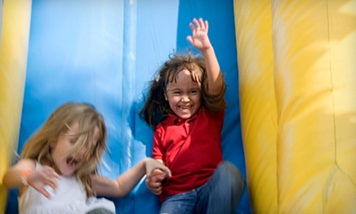 The Big Bounce - Cedar Park: $10 for Four Weekday Open-Play Passes or Two Weekend Open-Play Passes to The Big Bounce in Cedar Park ($20 Value)