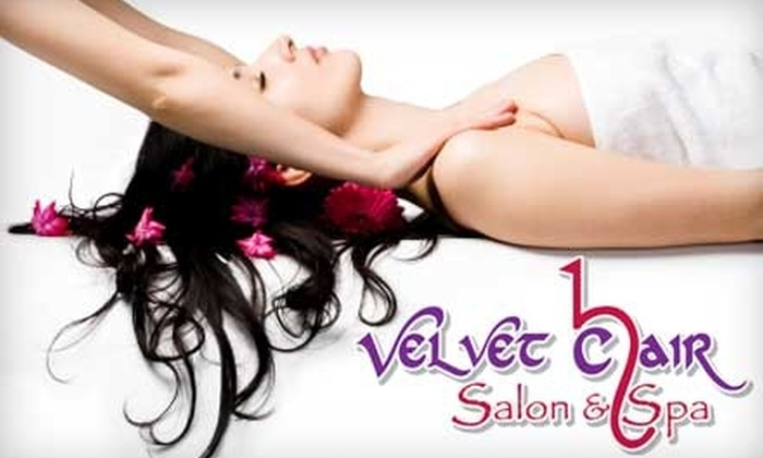 Velvet Chair Salon & Spa - Northwest Omaha: $99 for a 90-Minute Goddess Treatment Package at Velvet Chair Salon & Spa