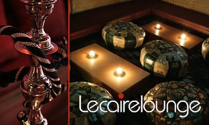 Le Caire Lounge - East Village: $15 for $30 Worth of Meals, Libations, and Hookahs at Le Caire Lounge