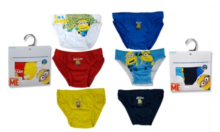Six Pairs of Children's Disney Briefs for £4.50