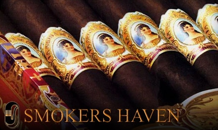 Smokers Haven - Lubbock: $10 for $20 Worth of Cigars, Pipes, and More at Smokers Haven