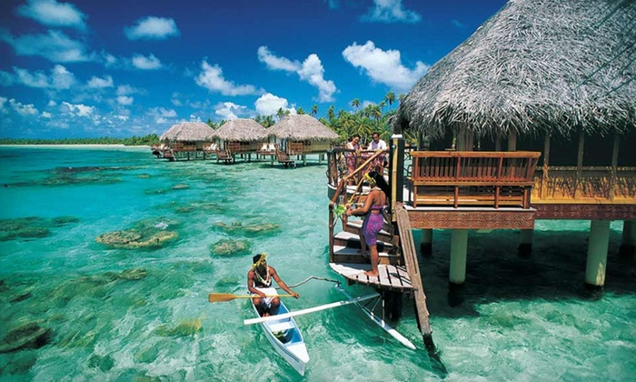 Manihi Pearl Beach Resort - Tuamotu: Four- or Seven-Night Stay for Two in an Overwater Bungalow at Manihi Pearl Beach Resort in French Polynesia