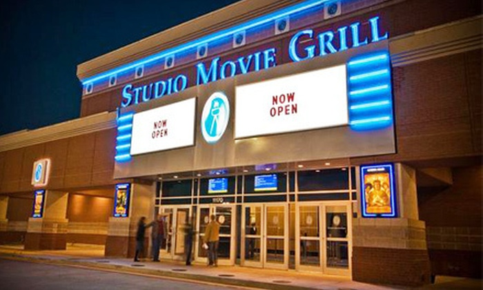 Studio Movie Grill - Multiple Locations: $6 for a Movie and Soda at Studio Movie Grill (Up to $12.74 Value)