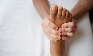 Portland Health Center: One-Hour Foot Reflexology and Back Massage Session for One or Two at Portland Health Center (50% Off)