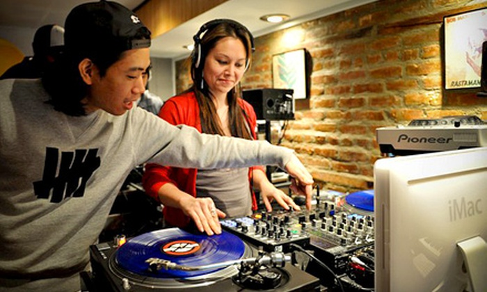Dubspot - West Village: $59 for a Friday Night Spin Session Introduction to DJ'ing Workshop at Dubspot ($125 Value)
