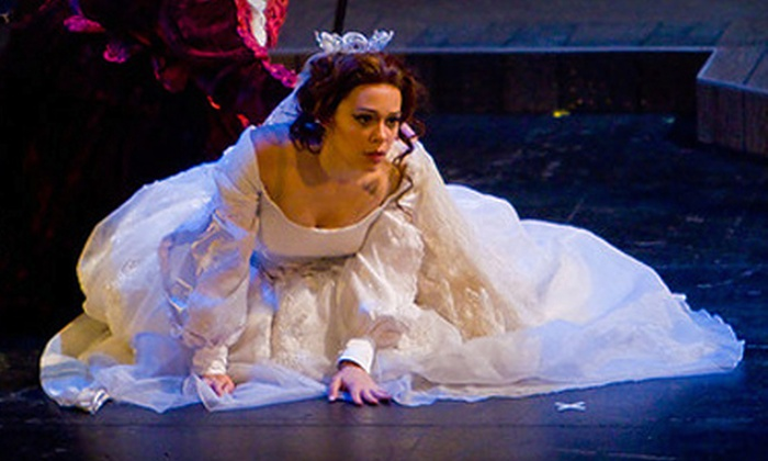 "Knoxville Opera - Knoxville: Theater Outing for Two to ""La Traviata"" or One Season Ticket to the Knoxville Opera"