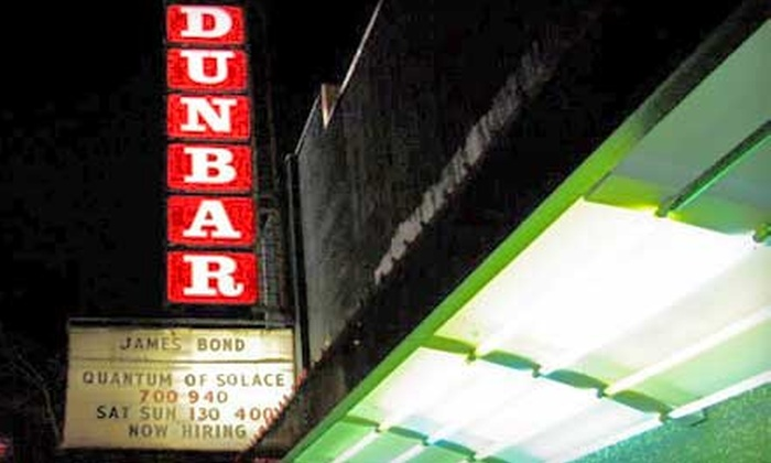 Dunbar Theatre - Dunbar-Southlands: $19 for Four Movie Tickets at Dunbar Theatre (Up to $43 Value)