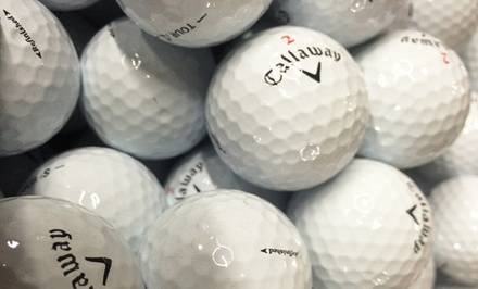 3 Dozen Callaway Warbird Plus Refinished Golf Balls