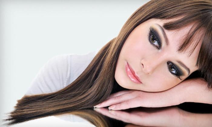 Monaco Salon - Northwest Tampa: $39 for Awapuhi Keratin Treatment and Haircut at Monaco Salon (Up to $122 Value)
