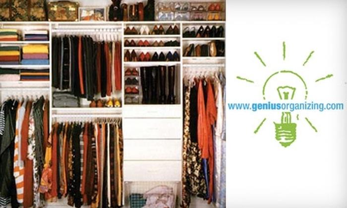 Genius Organizing - New York City: $49 for Three Hours of Professional Organizing from Genius Organizing ($225 Value)