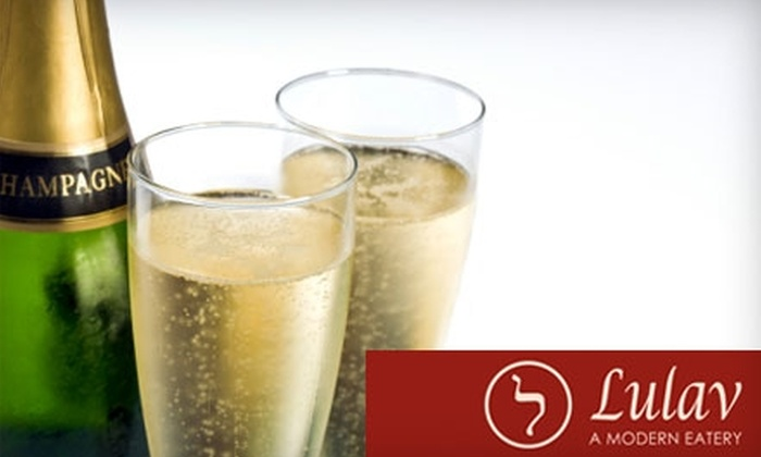 Lulav - Little Rock: $75 for Two Tickets to a New Year's Eve Party at Lulav ($150 Value)