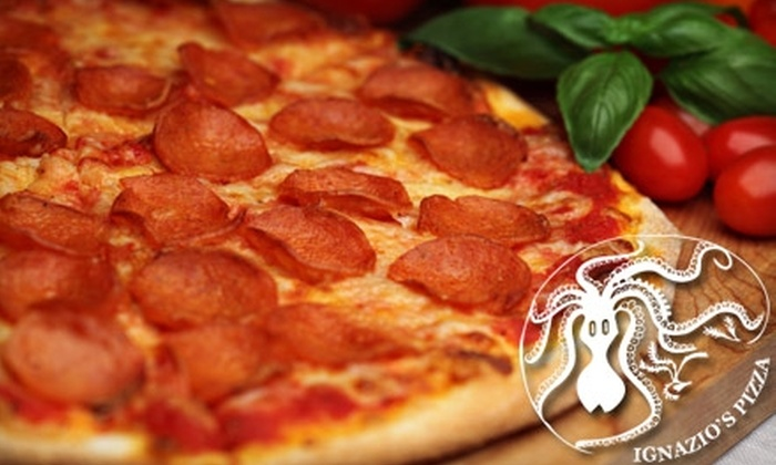 Ignazio's Pizza - Brooklyn Heights: $10 for $20 Worth of Pizza and Drinks at Ignazio's Pizza