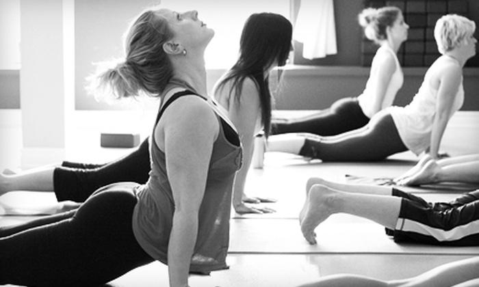 De La Sol Yoga Studios - Burlington: $39 for 10 Yoga Classes at De La Sol Yoga Studios in Hamilton ($145 Value)