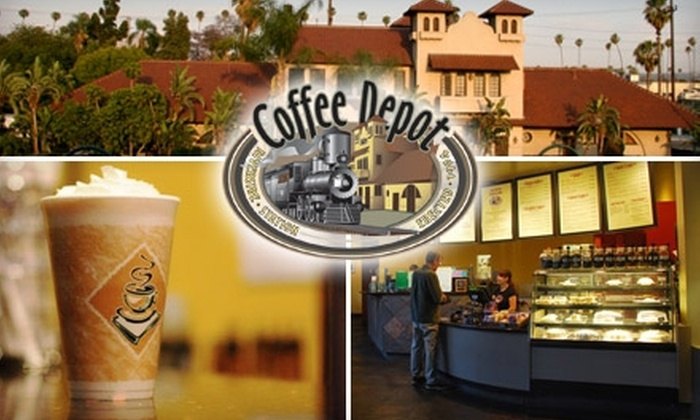 The Coffee Depot - Eastside: $4 for $8 Worth of Coffee and Café Fare at Coffee Depot in Riverside