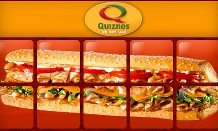 Quiznos - Morrison Plantation: $5 for $10 Worth of Subs, Drinks, and More at Quiznos in Mooresville