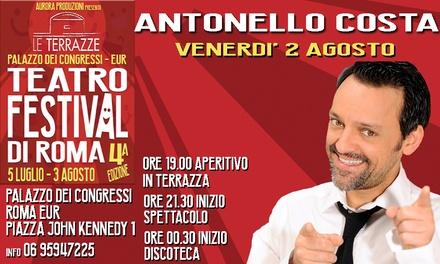 Deal Esperienze Groupon.it Antonello Costa a Roma