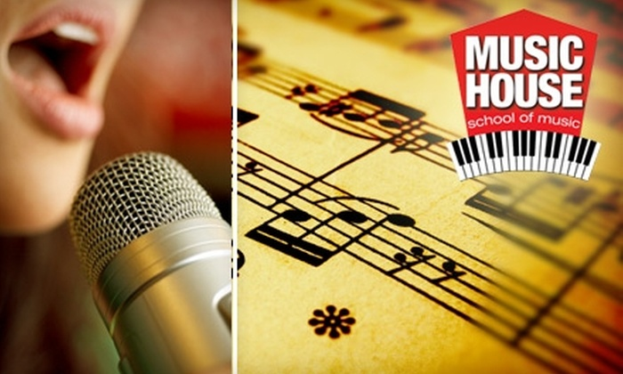 Music House School of Music - Blue Valley: $79 for a 10-Week Private Voice or Instrument Lesson Series of Your Choice at Music House School of Music in Overland Park ($292 Value)