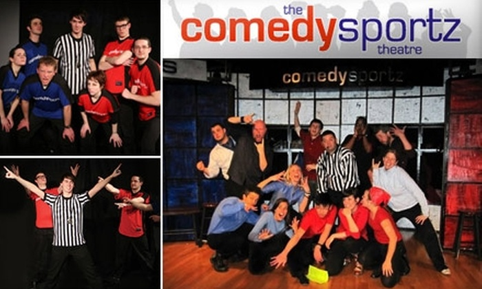 The ComedySportz Theatre - Lakeview: $12 for One Improv-Show Ticket and One Drink at ComedySportz Theatre (Up to $27 Value)