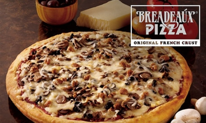 Breadeaux Pizza - Parkville: $10 for $20 worth of Pizza, Sandwiches, and Eclectic Eats at Breadeaux Pizza in Parkville