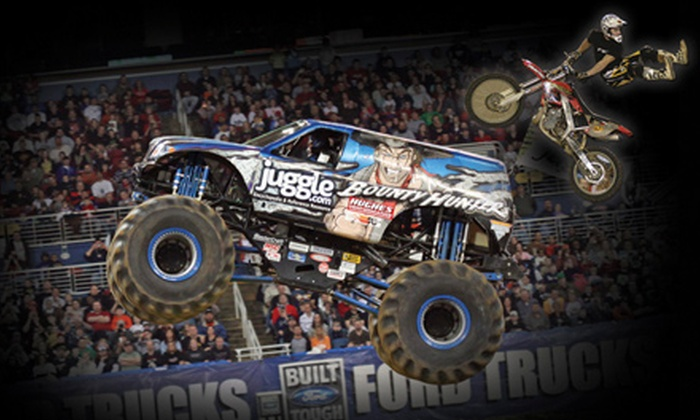 The Palace of Auburn Hills - Auburn Hills: Two Tickets or Two VIP Ticket Packages to Extreme Monster Truck Nationals at The Palace of Auburn Hills on December 3