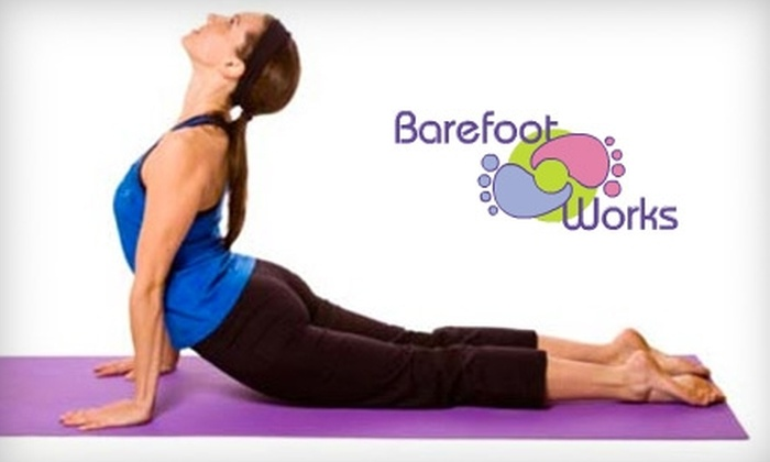Barefoot Works Yoga - Lexington-Fayette: $15 for One Month of Unlimited Yoga Classes at Barefoot Works Yoga