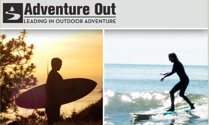Adventure Out - Los Gatos: $55 for Three-Hour Surf Lesson ($95 Value)
