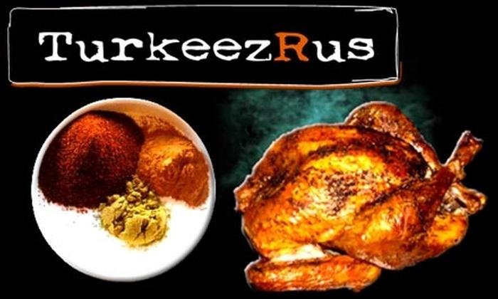 TurkeezRus - Smyrna: $29 for a Deep-Fried Turkey from TurkeezRus ($69 Value)