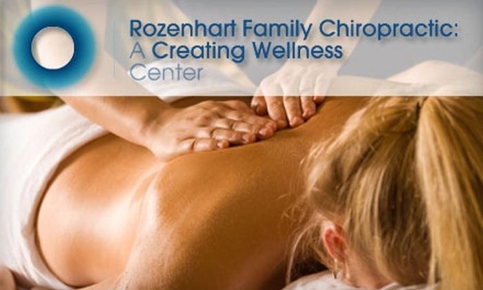 Rozenhart Family Chiropractic - Branham - Jarvis: $39 Consultation, Chiropractic Exam, Any Necessary X-rays, and Two Adjustments at Rozenhart Family Chiropractic (Up to $484 Value)