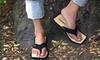 Chipkos - Canada: C$24 for One Pair of Men's or Women's Chipkos Original Sandals in Black, White, or Red from Chipkos ($48 Value)