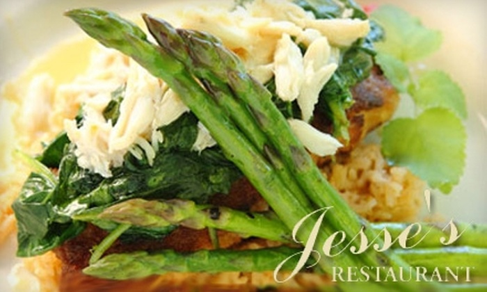 Jesse's Restaurant - Magnolia Springs: $15 for $30 Worth of Dinner at Jesse's Restaurant in Magnolia Springs (or $7 for $15 During Lunch)