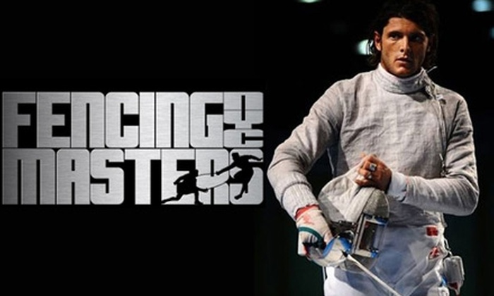Fencing Masters - Garment District: $45 for One Ticket and Two Drink Vouchers to the Fencing Masters at the Hammerstein Ballroom ($90 Value)