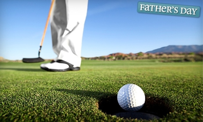 Clearwater Golf Course - Clearwater: $32 for 18 Holes of Golf for Two, Cart and Range Balls at Clearwater Golf Course in Clearwater (Up to $64 Value)