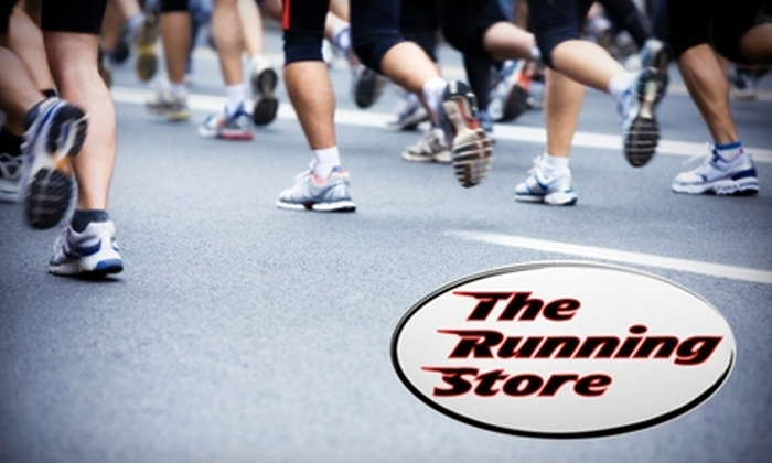 The Running Store - Gainesville: $25 for $50 Worth of Shoes, Apparel, and Accessories at The Running Store