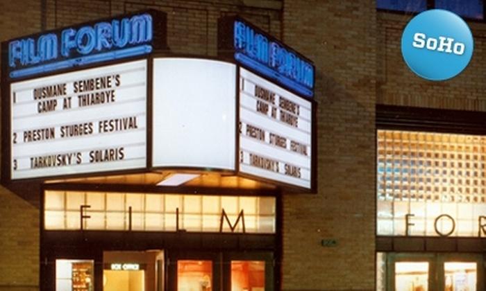 Film Forum - SoHo: $55 for a $110-Level Membership to Film Forum