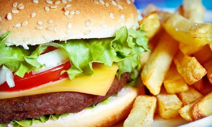 Ambush Grill and Bar - Crowley: Burgers and Pub Fare at Ambush Grill and Bar in Crowley (Half Off). Two Options Available.