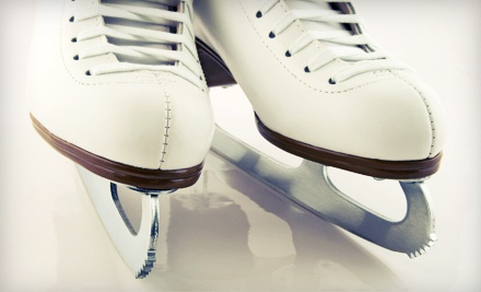 Public Skate Session Admission and Skate Rental for 2 (a $25 value) - Ice at the Galleria in Houston