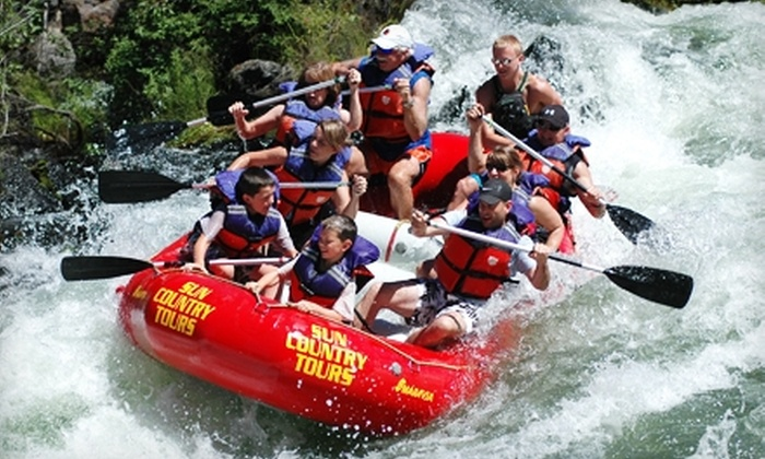 Sun Country Raft Tours - Southern Crossing: Big Eddy Thriller Rafting Trip from Sun Country Raft Tours in Bend. Choose Between Two Options.