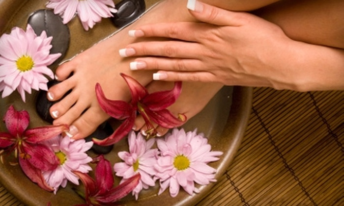 Donaylle Nicole Hair Studio - Grand Haven: $35 for Mani-Pedi at Donaylle Nicole Hair Studio ($70 Value) in Grand Haven