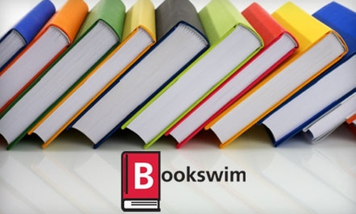 BookSwim: $5 for One Month of Unlimited Rentals from BookSwim