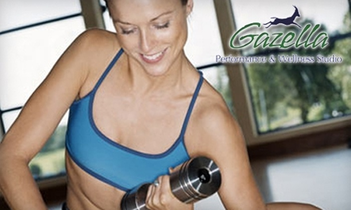 Gazella Performance & Wellness Studio - Skaneateles: $45 for Two Weeks of Unlimited Classes at Gazella Performance & Wellness Studio (Up to $100 Value)
