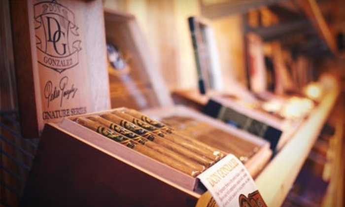 Maxwell's Cigar Bar - Woodstock: $10 for $20 Worth of Cigars, Drinks, and Accessories at Maxwell's Cigar Bar in Woodstock