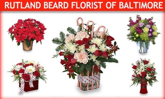 Rutland Beard Florist of Baltimore - Towson: $25 for $50 Worth of Flowers from Rutland Beard Florist